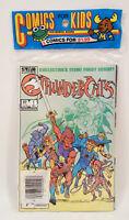 ThunderCats 1 2 3 TV Sealed Bag Lot Set Marvel Star 1985 1986 Jim Mooney Art