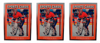 (3) 1991 Sports Cards #11 Patrick Roy Hockey Card Lot Montreal Canadiens