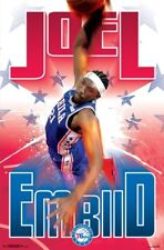 JOEL EMBIID - 76ERS POSTER - 22x34 NBA BASKETBALL 16295
