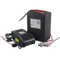 60V 20AH Rechargeable Li-ion Battery Pack 1500W E-bike Motor + 5A Charger  BMS