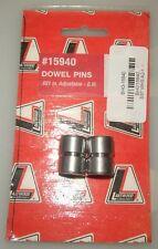 "Lakewood Bellhousing Dowel Pins - 0.021"" Adjustable G.M. (Part# 15940) NEW"