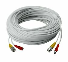 New 4 PACK 60ft/roll BNC DC cable,Premade Siamese Video for CCTV DVR camera