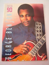GEORGE BENSON 1990 European TOUR PROGRAM BOOK