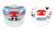 NUK DISNEY ORTHODONTIC PACIFIER 2-PACK MICKEY MOUSE SIZE 6-18 MONTHS