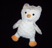 Target Limited Edition Plush Owl Cream Tan White Stuffed Animal To You From Me