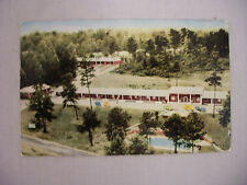 VINTAGE POSTCARD THE OLD SOUTH MOTEL & DINING ROOM IN ATLANTA GEORGIA 1957