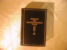 Probleme der Weltanschauungslehre Reichls Philosophischer Almanach 1927