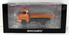Camions miniatures orange 1:43