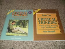 Critical Thinking Book 2 Problem Solving Reasoning Logic Arguments Set Text+Guid