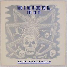 """MINIMAL MAN: Mock Honeymoon ORIG Minimal Synth Industrial Vinyl NM 12"""""""