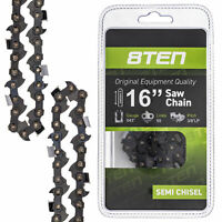 8TEN Chainsaw Chain for Stihl 16 Inch Bars .043 Gauge 3/8 Pitch 55 Drive Links