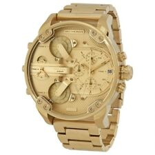 Diesel Dz7399 Mr Daddy 2.0 Gold Stainless Steel Chrono Watch