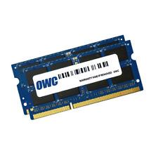 8GB OWC DDR3 SO-DIMM PC3-10600 1333MHz CL11 Dual Channel Kit (2x4GB)