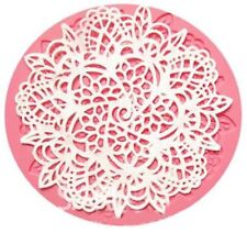 Flower Lace Impression Silicone Mold for Fondant, Gum Paste, Chocolate, Crafts