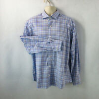 Southern Pine Men's Shirt, Large, Pre-owned, Long Sleeve, 100% Cotton