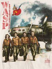 Vtg 1996 World War II WASP Women Airforce Service Pilots T-shirt Size XL NWOT
