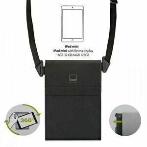 Apple iPad MINI ERGO BOOK SLING Messenger Carry Bag Case Stand + Shoulder Strap.