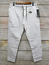 Modern Culture Mens Size Medium White Taper Fit Moto Stretch Jogger Pants New