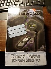 Jardín-laser Laserworld gs-70gb Xmas RC