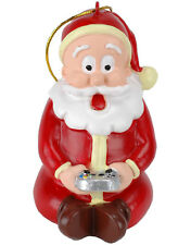 Tree Buddees Gamer Santa Claus Christmas Ornament Video Game Player Xmas Decor