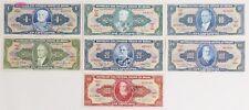 Lot of 7 Brazil Cruzeiros Note $100-20-10-2-1 Pick P-150,157,159,167,168,170 ,180