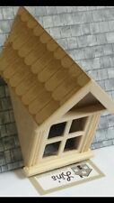 Dolls House Miniatures 1/12th Scale Wooden Dormer Window 45 Degree DIY628*