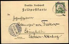 DSW,Feldpostkarte(12)befördert m.Wanderstempel Ojiwarongo nach Stünzhain, pracht