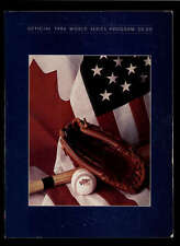 1986 NEW YORK METS VS BOSTON RED SOX  OFFICIAL WORLD SERIES PROGRAM LOT1069