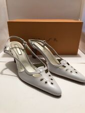 Unisa White Leather Lanie 5.5 Womens Shoes