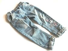 NEXT Zuckersüße Jeans mit Hasen-Patches Gr. 2-3 yrs 92-98