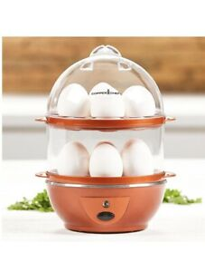 Copper Chef Perfect Precise & Effortless Automatic Egg Maker 14 Egg Capacity