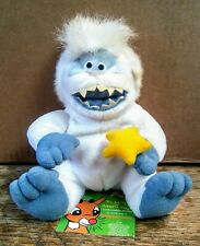 "1998 Cvs Rudolph Misfit Toys Abominable Snowman 6"" Plush/Beanie With Tags"