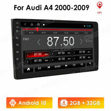 Android 10 Radio GPS Navi Stereo Wifi Car no DVD Player For Audi A4 2002-08 32GB