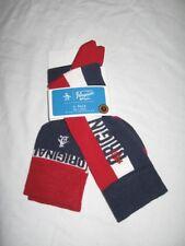 BNWT ORIGINAL PENGUIN Mens Socks  Navy Blue Red White   2 Pairs