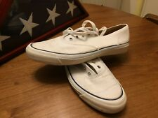 *Ultra-Rare*! Genuine Vintage Usa Made White Keds Court Shoes-Size 11