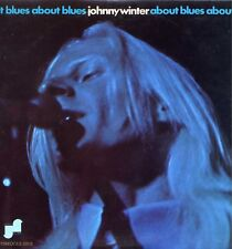 """JOHNNY WINTER """"ABOUT BLUES"""" ORIG US 1970 EX+/EX+"""