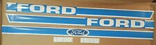 Ford / New Holland Compact Tractor Model 1910 New Hood Decal Set