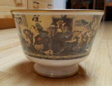 """Norman Rockwell """"Yankee Doodle"""" Limited Edition 1976 Designer Bowl 8"""" x 6 """""""