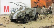 """BTR-40 """"Russian tanks"""" 1940. Diecast Metal model 1:72. GE Fabbri. NEW"""