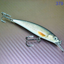 Floating Diving Plug Minnow Lure Hard Bait Crank Bait Fishing Tackle 10cm 15g