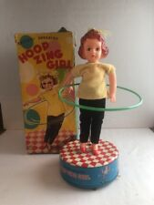 Linemar Tin Toy Hoop Zing Girl