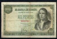 Billete de España 1000 pesetas 1949 Ramon de Santillan 06831384