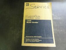 Caterpillar CAT 130G Motor Grader Parts Manual  SEBP1047