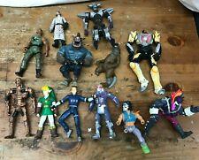 Mixed Lot of 1990's Action Toy Figures Figurines Marvel Comics Zelda Terminator