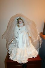 """Rare 1992 Vintage 24"""" Bride Doll by Jc Penney Great Wedding/Shower Gift/Decor"""