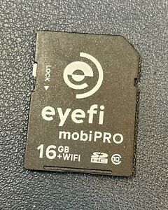 Eye-Fi mobiPRO 16GB WiFi SDHC CLASS 10  SD Card |EyeFi SD Card Wi-Fi