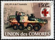 ASLAV-A (Australian Light Armoured Vehicle) Military Ambulance Car Stamp