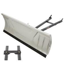 "Adjustable Complete Universal 48"" Steel Blade Kit  For ATV Snow Plow"