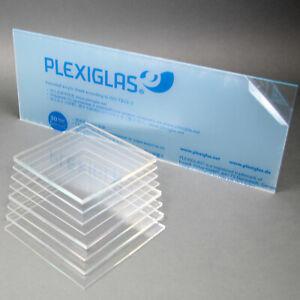 Acrylglas Zuschnitt Plexiglas Zuschnitt 2-8mm Platte//Scheibe klar//transparent 4 mm, 900 x 600 mm