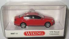 Wiking 008701 VW Passat B7 Limousine tornadorot 1:87 HO